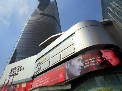 LED Outdoor Facade for the Bitexco Financial Tower