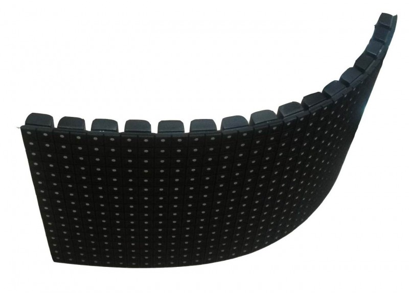 concave flexible led display