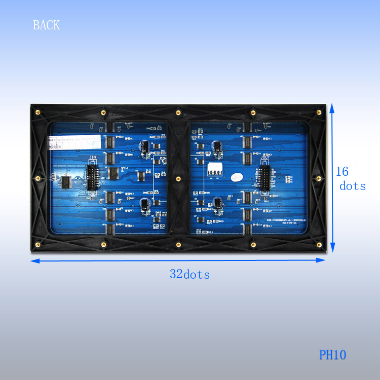modulable pitch led display