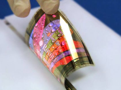 Royole created world's thinnest full-color flexible display